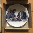 Disney Art Exhibition Tokyo limited Lady and the Tramp Mini dish plate Picture