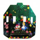 Disney Alice in Wonderland The most small world in my field Desk cultivation kit