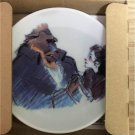Disney Art Exhibition Tokyo Character Beauty and the Beast Mini dish plate dish