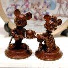 Tokyo Disney Land Hotel limited character Mickey & Minnie pair figure set