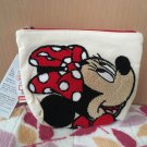 Disney Character Minnie Mouse Sagara Embroidery Pouch Bag Cosmetic Case