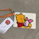 Disney store Pooh and Pigret Sagara embroidery pass case regular case