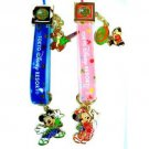 Tokyo Disney Resort 2013 New Year Mickey & Minnie Charm with Pair Strap Item