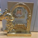 2003 TDS Disney Hotel MiraCosta Limited Mickey Mouse Gold Tone picture frame