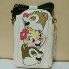Disney  Chip & Dale & Clarisse Character Multi Case Wallet Pouch Bag