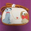 Disney store Japan Lady and the Tramp Pochette shoulder bag pouch handbag case