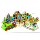 Tokyo Disneyland 20th Anniversary Diorama Map 7 sets Miniature Figure Cinderella