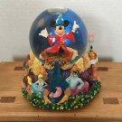 Mickey Mouse Fantasia Sorcerer's Apprentice Light Up Music Box Snow Globe Japan