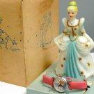 Vintage 1958 U · S · Cinderella Figure Doll + Hand Winding Wrist watch