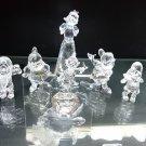 2009 Snow White and Seven Dwarfs SWAROVSKI Crystal Figure Ornament