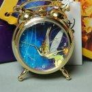 1998 Disney's 75th Anniversary Tinker Bell Desktop Clock Hand-wound Desk Clock