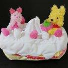 Disney Store Limited Winnie the Pooh Ichigo Cake Tissue Cover Case Holder
