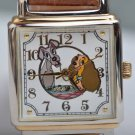 1990s Disney Store Lady and the Tramp Quartz Wrist watch Limited Edition of 7500