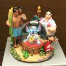 US Disney Store Lilo & Stitch as Elvis Snow Globe Snow Dome Music  figure doll