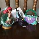 Disney Store Japan WDW Little Mermaid Ariel Christmas Ornament Figure Set