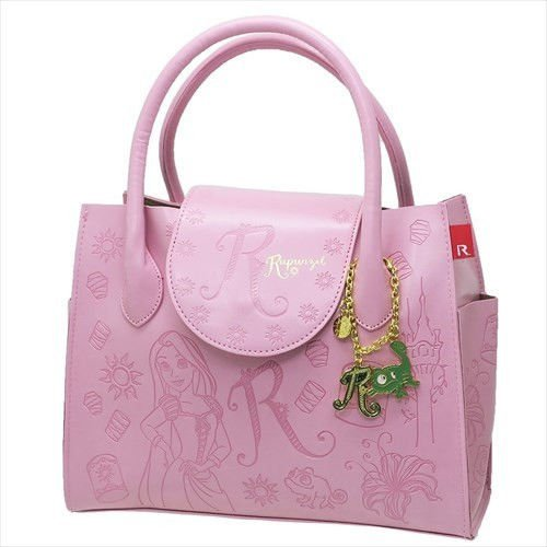 Disney ROOTOTE Rapunzel on top of the tower Leather leather tote bag with charm