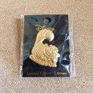 Disney Chisha Cat Pin Badge Alice in Wonderland Gold Plated Ornament