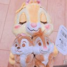 Disney Store Japan Claris Chip & Dale Plush Doll set Girls Hobby Toys