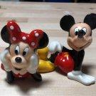 2000 US Disney Florida Mickey & Minnie Mouse Salt & Pepper Figure Case