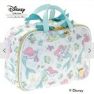 Disney Jewel Narrows Ariel Fastener Pouch Travel Bag Small Case Ladies mint blue