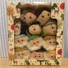 2017 Disney Store Japan Tsumsum Snow White 11 Elements Duel Doll Set