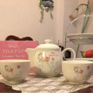 Disney Aristo cat Marie Ceramic Teapot & Cup Set Cafe Cafe Mug