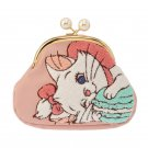 Disney Store Japan Aristo cat Marie Pouch Small Pouch Embroidery Coin Case Pink