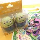 Tokyo Disneyland Easter 2015 Little Green Men Alien Salt & Pepper Seasoning Case
