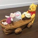 Tokyo Disney Land Pooh Tissue Cover Case Honey Hunt Houseware plus dolls