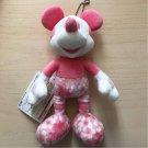 Tokyo Disney Resort Mickey Mouse Sakura Flower Plush Doll badge Doll Spring TDS