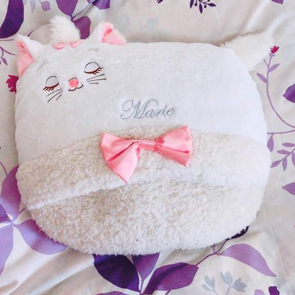 Disney store Japan Aristo cat Marie Foot warmer leg warmer  Ladies White