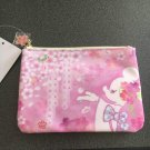 Tokyo Disney Resort Minnie Mouse Sakura Flower Accessory Pouch Case Bag Pink