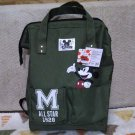 Disney Mickey Mouse Rucksack Backpack School Bag Green