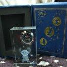 Disney Lilo & Stitch glass clock table clock crystal
