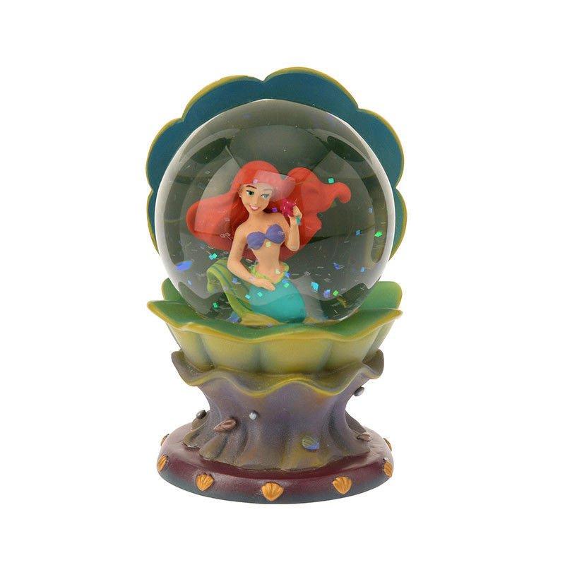 Disney Store Ariel Figure Under the Sea Snow globe Snow dome Shellfish Ornament