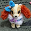 Disney Store Japan Lady and the Tramp Plush toy badge strap