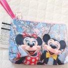 Tokyo Disney Resort Mickey & Minnie Mouse Sakura Flower Pouch Live PenCase Photo