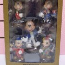 Tokyo Disneyland TDL 20th Anniversary Mickey Mouse Head swing doll 5 sets Bobbin