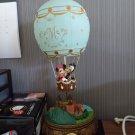Japan Limited Mickey & Minnie balloon lamp music box watch figure ornament