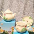 Tokyo Disney Resort Tinker Bell Tea Set Cup & Pot & Saucer with Original box