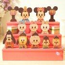 Disney building block KIDEA Doll Mickey & Friends Wooden block toy figure