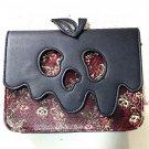 Disney Store Japan Snow White Poison apple Bag Pouch Case chain shoulder