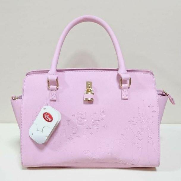Disney Store Japan Rapunzel 2 Way Handbag Shoulder L Pink Little Mermaid