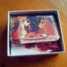 Disney Lady and the Tramp Wallet purse Card Case Gift Japan