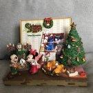 Tokyo Disney Land Christmas Fantasy 2000 Mickey Figure Photo Frame Stand