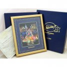 2001 Goodbye Tokyo Disney Land Fantillusion Memorial framed Pin set