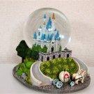 Disney Cinderella Castle Castle Snow Globe Snow Dome Sleeping Beauty Castle