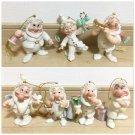 LENOX CLASSICS Seven Dwarf Pottery Figure Ornament 7 Doll Complete Set