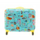 Disney Store Japan Lady and the Tramp Trolley Carry Case Travel Bag Tank