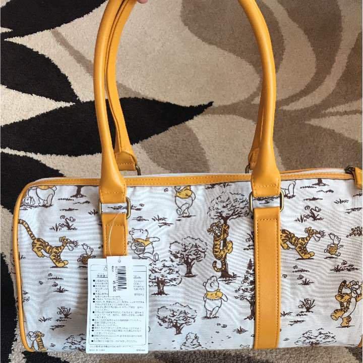 Tokyo Disney Resort Winnie the Pooh Boston Bag & Hand Towel Set